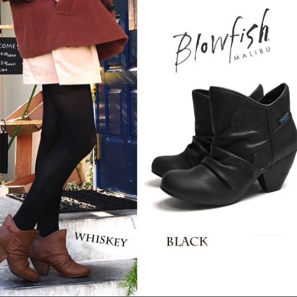 e62959339be Blowfish Shoes - Blowfish black ankle booties
